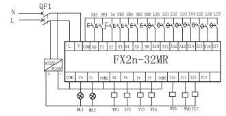 Fabulous Mitsubishi Fx2N 32Mr Plc Wiring Diagram Plc One Wiring Digital Resources Indicompassionincorg