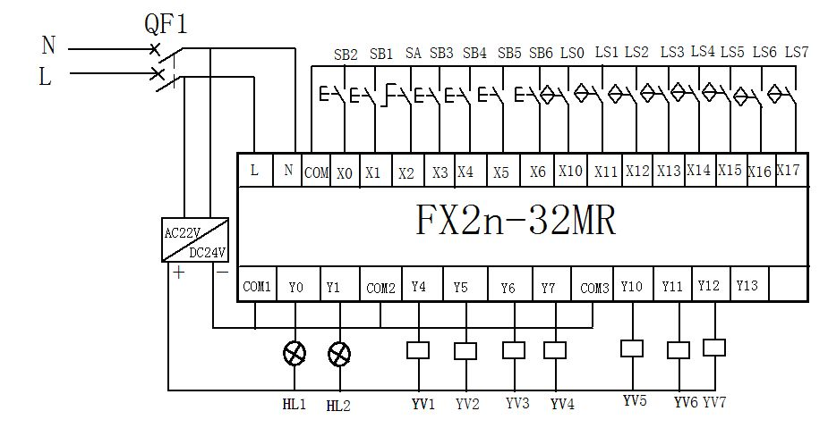 Diagram Mitsubishi Fx2n Wiring Diagram Full Version Hd Quality Wiring Diagram Diagramlupoc Stokker It