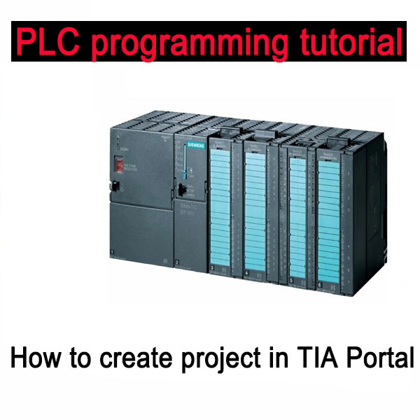 PLC programming tutorial – How to create project in TIA